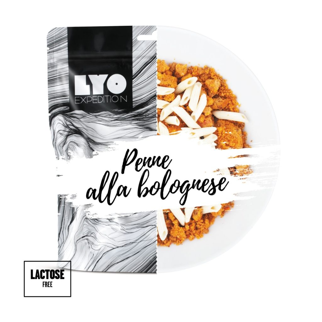 Lyofood Penne Bolognese 500g