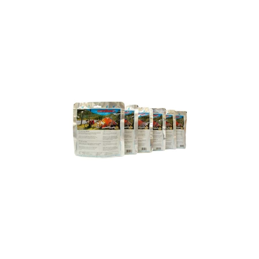 Travellunch Vegetarian Meals 6x125 gram