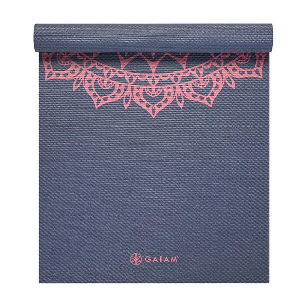 Gaiam Yoga Mat Pink Marrakech 4mm