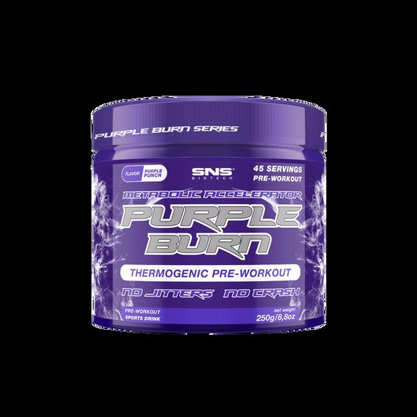 SNS Biotech Purple Burn PWO, 250g, Purple Punch