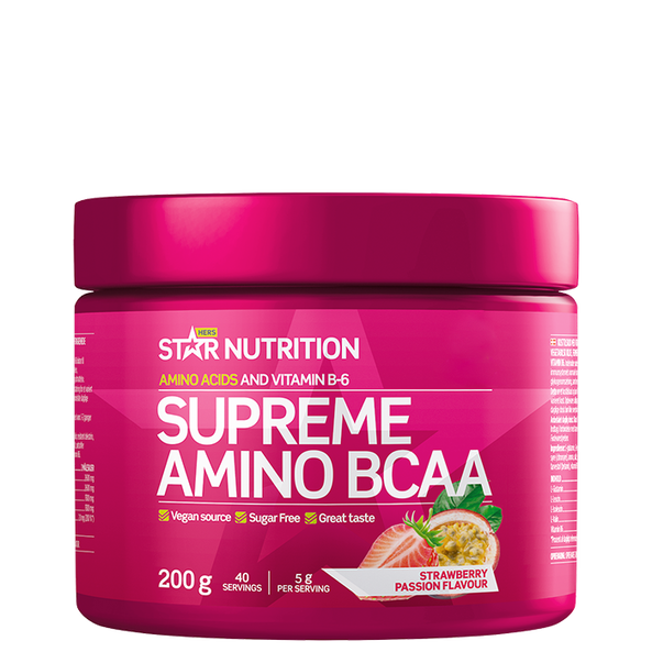 Star Nutrition Supreme Amino BCAA, 200g