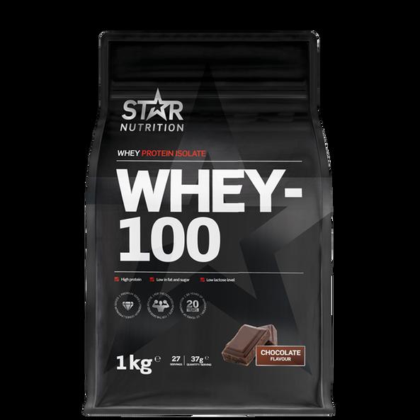 Whey-100, 1 kg Star Nutrition