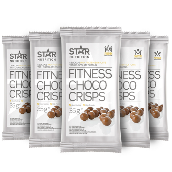 5 x Protein Choco Crisps 35g Star Nutrition