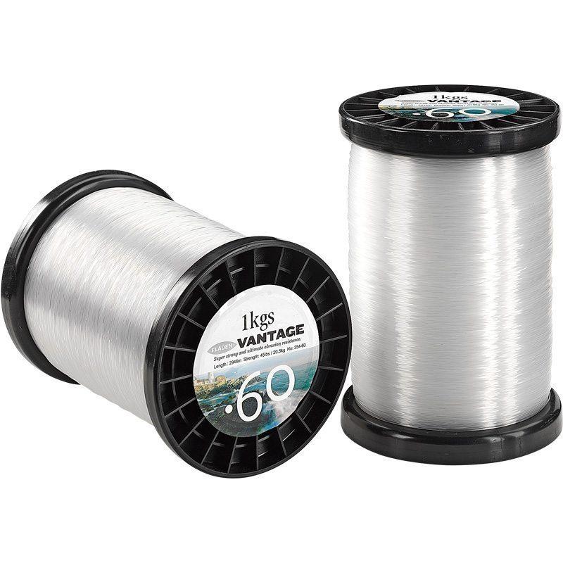 Fladen Vantage Pro klar nylonlina 1 kg jättespole