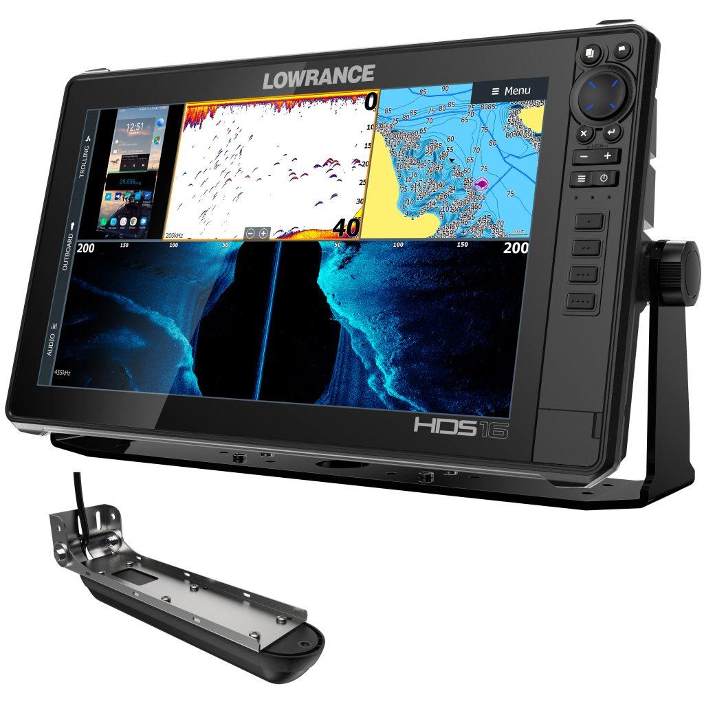 "Lowrance HDS Live 16"" kombienhet med Active Imaging 3 in 1 givare"
