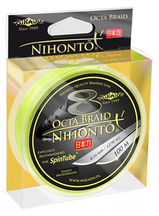 Mikado Spintube Octa Braid 100 m flätlina