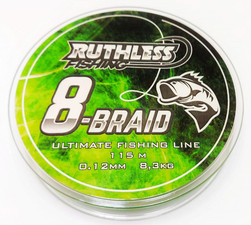 Ruthless 8-Braid grön 115 m flätlina